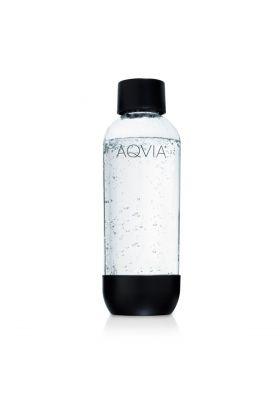 Aqvia Vannflaske 1L Svart