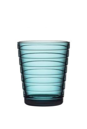 Aino Aalto glass sjøblå 22cl