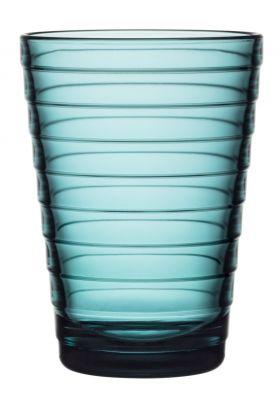 Aino Aalto glass sjøblå 33cl