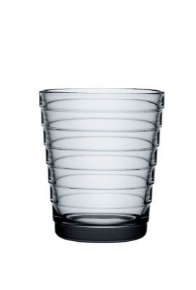Aino Aalto glass Grå 22cl