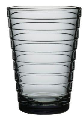 Aino Aalto glass grå 33cl