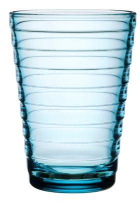 Aino Aalto glass Lysblå 33cl