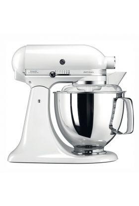 KitchenAid Artisan kjøkkenmaskin 4,8 L + 3 L Hvit, 300 watt