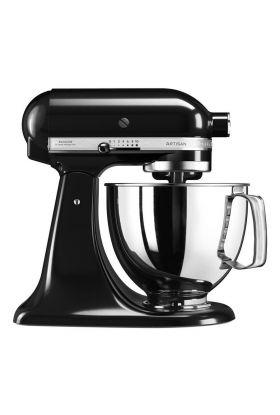 KitchenAid Artisan kjøkkenmaskin 4,8 L Svart, 300 watt