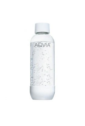 Aqvia vannflaske 1L hvit