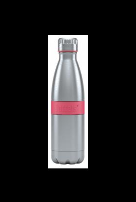 Boddles dobbeltvegget drikkeflaske 0,5L Bringebærrød