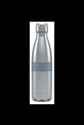 Boddles dobbeltvegget drikkeflaske Grå 0,5L