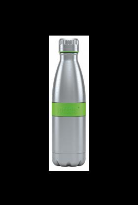 Boddles dobbeltvegget drikkeflaske 0,5L Grønn
