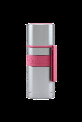 Boddles Termos dobbeltvegget m/drikke kopp 0,35L bringebærrød