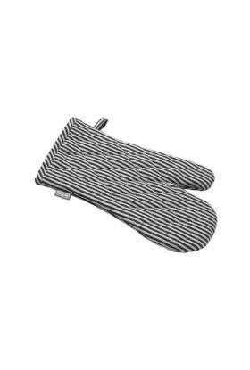 Bastian Jumbo grytevott striper sort/natur striper 28/33x18 cm
