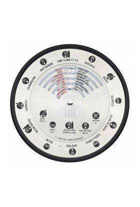 Barcraft cocktail kompass med 12 oppskrifter