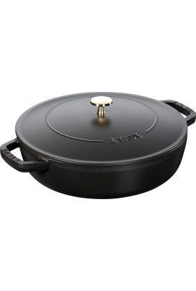 Staub sautépanne 3,7 l svart