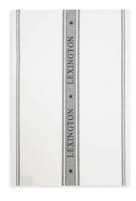 LEXINGTON ICONS KJØKKENHÅNDKLE HVIT/SORT 50X70 CM
