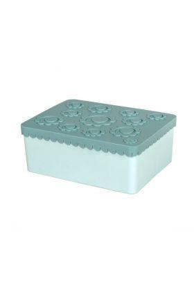 Blafre matboks blomst Blå