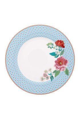 Middagstallerken 26,5cm blå