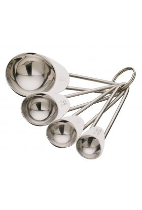 KitchenCraft måleskjeer stål