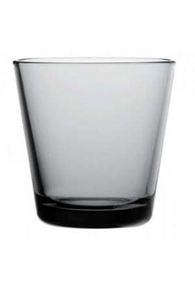 Iittala Kartio vannglass grå 21cl
