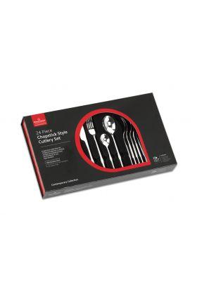 Grunwerg, chopstick bestikksett 24 deler