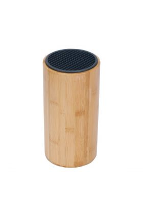 Grunwerg knivblokk bambus høyde 24,5 cm