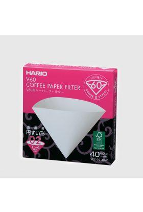 Hario V60 Papirfilter 02/40 stk