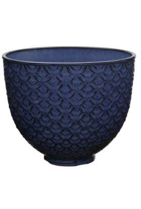 Kitchenaid Artisan keramikkbolle blå 4,7L