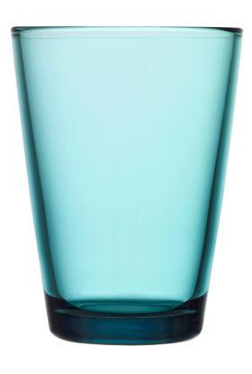 Kartio glass sjøblå 40cl