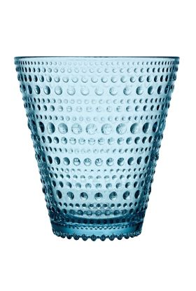 Kastehelmi glass lyseblå