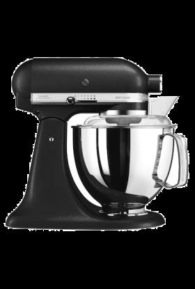 KitchenAid Artisan kjøkkenmaskin 4,8 L + 3 L Rustikk Svart, 300 watt