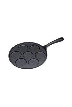 KitchenCraft blinispanne støpejern 23,5 cm