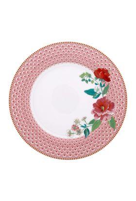 Middagstallerken 26,5cm rosa