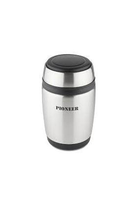 Pioneer mattermos m/skje sølv 0,38 l