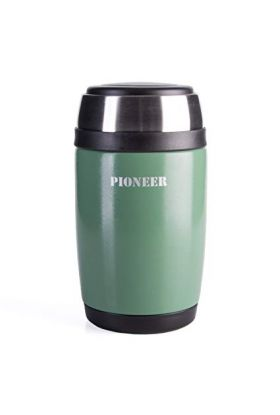 Pioneer mattermos m/skje grønn 0,58 l