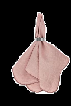 Broste copenhagen linserviett rosa