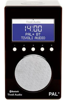 Tivoli Audio Pal + BT radio svart/hvit 9,9x12x20 cm