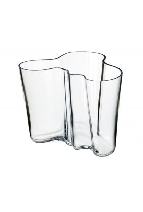 Aalto vase 160mm klar