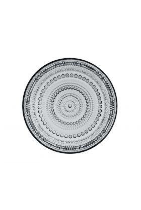 Kastehelmi tallerken 170mm grå