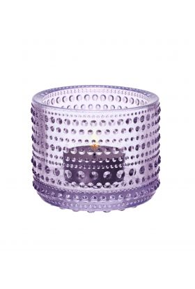 Kastehelmi lyslykt 64mm lavendel