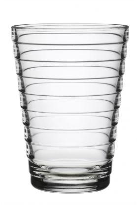 Aino Aalto glass 33cl klar 2-pk