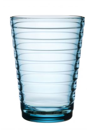 AINO AALTO GLASS LYSEBLÅ 2PK 33CL
