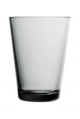 KARTIO GLASS GRÅ 2PK  40CL