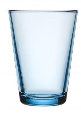 Kartio glass 40cl lysblå 2-pk