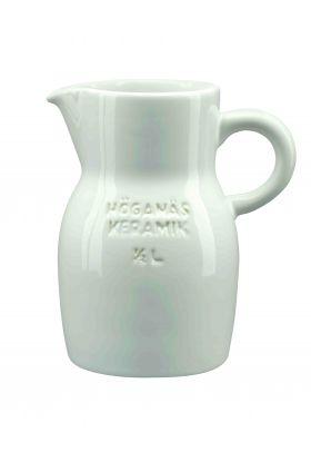 HK mugge 0,5L hvit blank