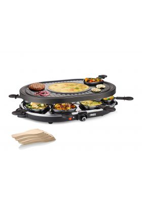 Raclette 8 Oval Grill Party