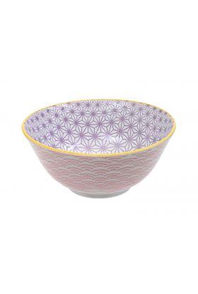 Star/Wave Tayo Bowl 15x6.5cm Pink