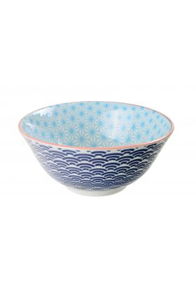 Star/Wave Tayo Bowl 15x6.5cm Blue