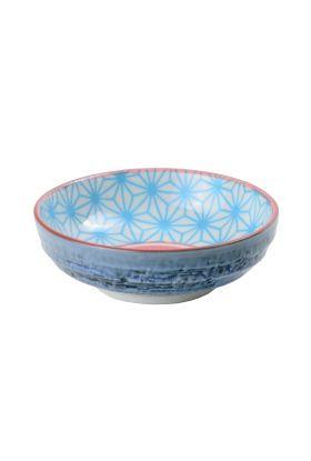 Star/Wave dish 9.5x3cm Blue