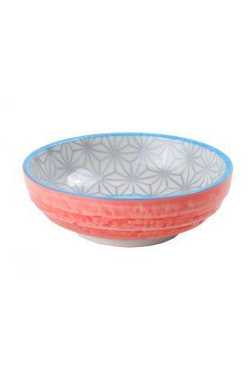 Star/Wave dish 9.5x3cm Grey
