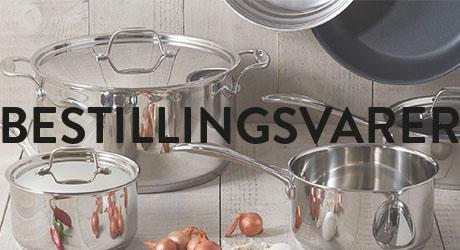Bestillingsvarer Traktøren kjøkkenutstyr